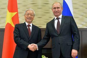 Tổng thống Nga Putin sẽ hội đàm cùng Tổng Bí thư Nguyễn Phú Trọng tại Sochi