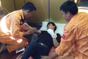 Cứu thuyền viên người Trung Quốc gặp nạn gần vùng biển Khánh Hòa