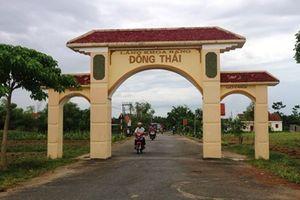 Về làng khoa bảng Đông Thái nghe chuyện khuyến học, khuyến tài