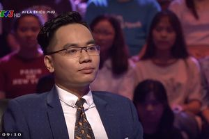 Dân mạng truy tìm 'người đẹp trai' của chương trình 'Ai là triệu phú'