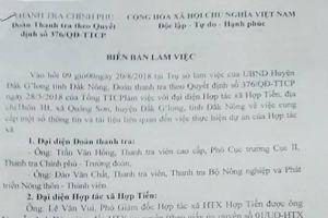 Đắk Nông: Bất cập trong dự án, hợp tác xã 'cầu cứu' Thanh tra Chính phủ