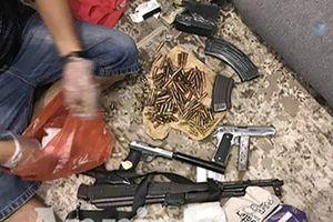 Cảnh sát thu nhiều súng đạn tại nhà trùm ma túy