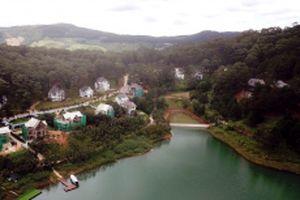 Thắng cảnh cấp quốc gia hồ Tuyền Lâm mọc thêm công trình trái phép
