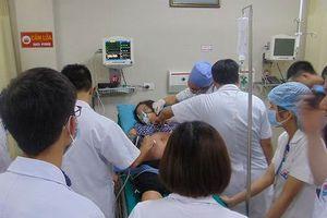 Bệnh viện Đa khoa Hùng Vương (Phú Thọ) cấp cứu thành công sản phụ bị ong đốt nguy kịch