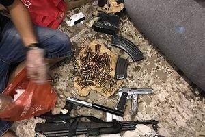 Hà Nội: Bóc gỡ đường dây mua bán ma túy, thu nhiều súng đạn