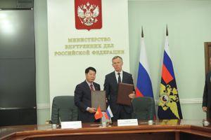 Bộ Công an Việt Nam và Bộ Nội vụ Nga tăng cường hợp tác