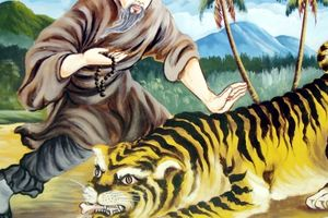Những huyền thoại ly kỳ ở vùng Bảy Núi - Thất SơnKỳ 3: Thu phục mãnh hổ, vượt biển bằng nón lá và dự báo thiên cơ