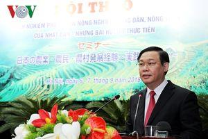 Thành công về 'tam nông' của Nhật Bản là bài học quý cho Việt Nam