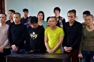 Đòi tiền bảo kê, nhóm thanh niên lãnh 148 tháng tù