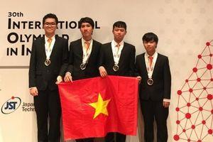 Việt Nam giành huy chương vàng Olympic Tin học quốc tế