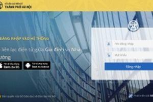 Hà Nội triển khai 'Sổ liên lạc điện tử' miễn phí cho phụ huynh học sinh