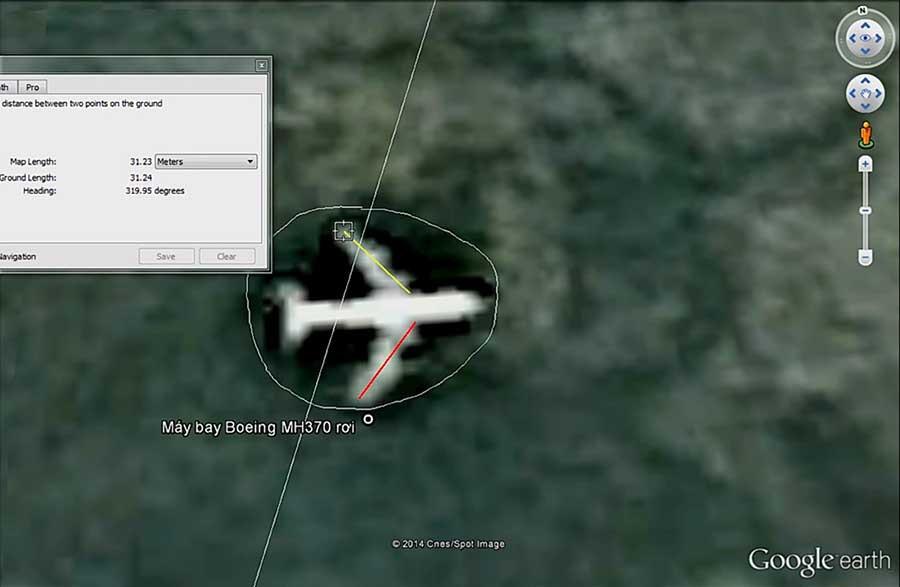 Làm rõ thông tin người dân 'tìm thấy' máy bay MH370 của Malaysia mất tích