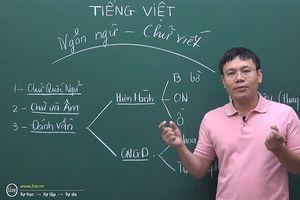 Thầy giáo làm clip giúp nhiều người hiểu rõ hơn về cách phát âm 'lạ'