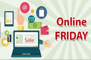 Khởi động mùa mua sắm Online Friday 2018 với nhiều khuyến mãi