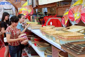 Khoảng 300 gian hàng sẽ tham gia Hội chợ hàng Việt thành phố Hà Nội năm 2018