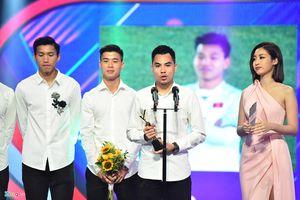 U23 Việt Nam nói gì khi vượt Xuân Trường trở thành Nhân vật của năm?