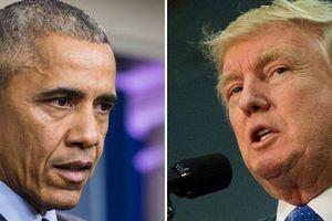 Tổng thống Trump nói ông Obama giỏi 'ru ngủ' người khác