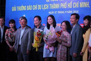TP.HCM: Trao giải thưởng Báo chí Du lịch năm 2018
