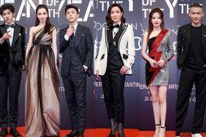 Sao 'Diên Hi công lược', Triệu Vy, Angela Baby khoe sắc bên 'mỹ nam' Đặng Luân và Thái Từ Khôn tại sự kiện