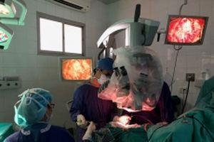 Phẫu thuật thành công ca bệnh u não hiểm nghèo