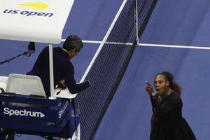 Serena Williams bị phạt vì xúc phạm trọng tài ở Mỹ mở rộng 2018