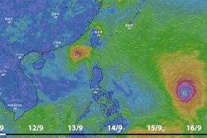 Tin áp thấp nhiệt đới, bão Mangkhut và dự báo thời tiết trên biển ngày mai 11/9/2018