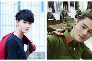 Chàng cảnh sát cơ động ĐắK Lắk cao 1m8, đẹp trai không thua kém tài tử Hàn Quốc