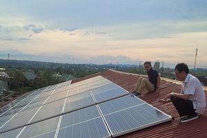 Thủy điện Ialy đưa vào sử dụng công trình điện mặt trời áp mái