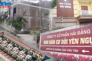 Thái Nguyên: Nhiều khuất tất tại Dự án Xây dựng Khu dân cư đồi Yên Ngựa