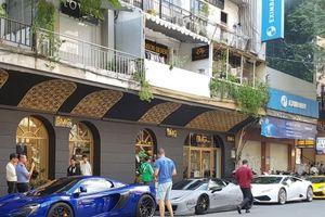 Ngắm dàn siêu xe của các đại gia Sài Gòn tụ tập trên phố Ngô Đức Kế