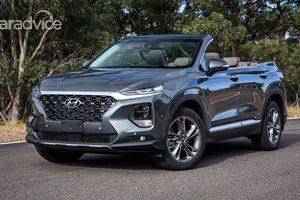 Hyundai hé lộ mẫu mui trần 7 chỗ Santa Fe Cabriolet 2019