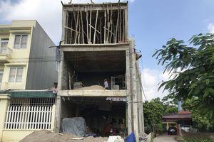 Chính quyền TP Thái Nguyên: 'Ưu ái' cho vi phạm trật tự xây dựng?