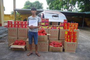 Lạng Sơn bắt giữ hơn 2,2 tấn pháo lậu
