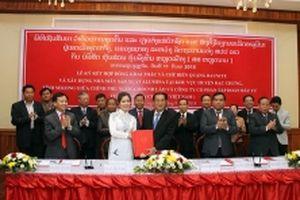 Việt Nam tiếp tục tăng cường đầu tư vào Lào