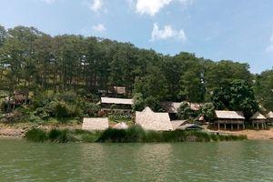 Lạ lẫm 'hòn đảo' Nam Qua nằm ngay lòng thành phố mộng mơ Đà Lạt