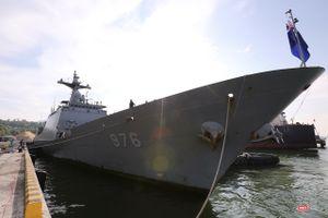 Khu trục hạm Hải quân Hàn Quốc thăm chính thức Đà Nẵng được trang bị vũ khí khủng gì?