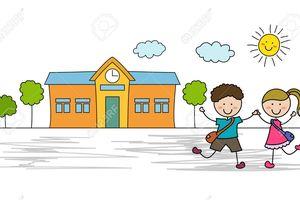 Hôm nay con đi học có vui không?
