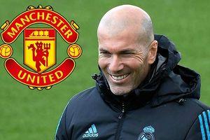 HLV Zidane tiết lộ sớm trở lại huấn luyện, có khả năng dẫn dắt MU