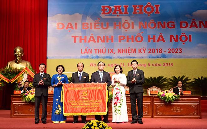 Ông Lê Trọng Khuê tái đắc cử chức Chủ tịch Hội Nông dân TP Hà Nội