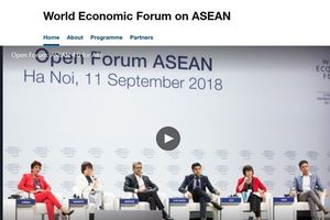 Lịch trực tiếp WEF ASEAN 2018 chủ đề 4.0