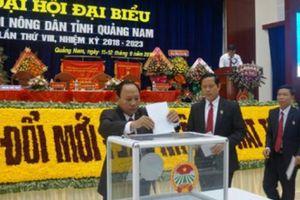 Đại hội Hội ND tỉnh Quảng Nam : Bám sát cơ sở để hỗ trợ nông dân