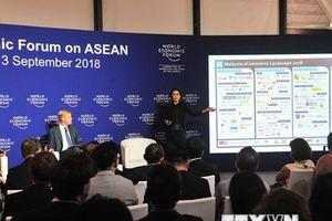 Hình ảnh ba phiên thảo luận trong khuôn khổ WEF ASEAN 2018