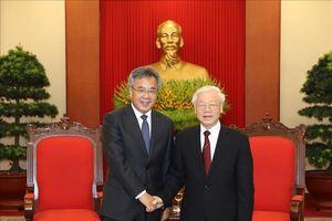 Tổng Bí thư Nguyễn Phú Trọng tiếp Phó Thủ tướng Trung Quốc Hồ Xuân Hoa