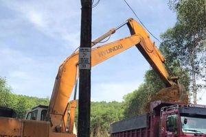 Vụ doanh nghiệp phá rừng tràm trộm đất sét: Phê bình lãnh đạo xã