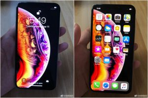 iPhone Xs bất ngờ lộ ảnh trước giờ ra mắt: Màn hình 5,8 inch, viền vàng, tai thỏ