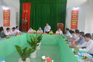 Đồng chí Phạm Minh Chính, Ủy viên Bộ Chính trị, Bí thư Trung ương Đảng, Trưởng Ban Tổ chức Trung ương làm việc tại tỉnh Sóc Trăng
