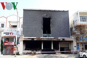 Công an lấy lời khai 6 công nhân liên quan vụ cháy quán bar ở Đà Nẵng