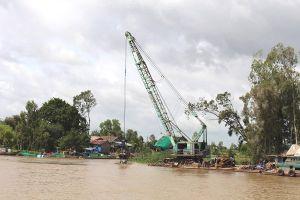 Đồng Tháp không muốn nạo vét luồng sông Cái Vừng qua An Giang - Đồng Tháp