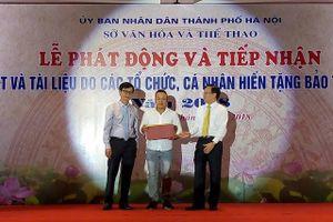 Bảo tàng Hà Nội tiếp nhận hơn 1000 hiện vật quý
