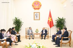 Thủ tướng tiếp Giám đốc Điều hành của Ban thư ký Ủy hội sông Mekong
